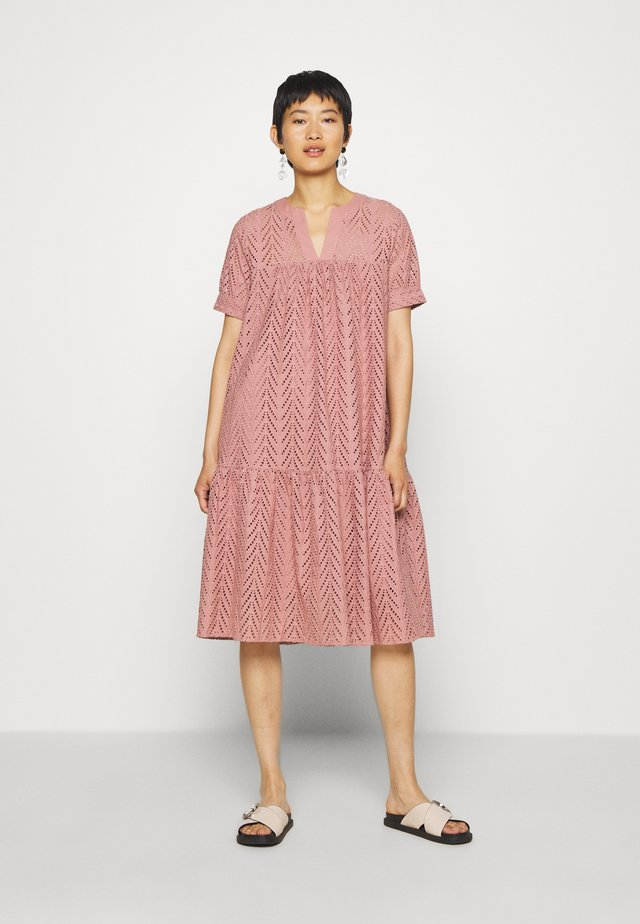 FAITH DRESS - Day dress - mocha mousse
