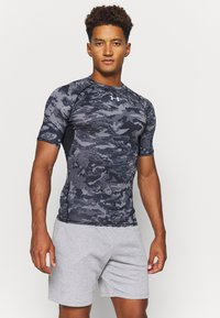 Under Armour - T-shirt imprimé - black - 0