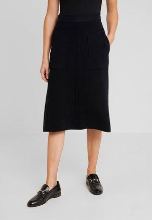 MARIE - Áčková sukně - schwarz