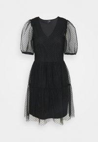 VMLUCILLE V NECK DRESS - Denní šaty - black
