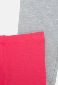 Friboo - 4 PACK - Leggings - Trousers - pink/light grey/dark blue - 3