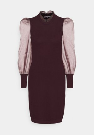 RMIBI - Jumper dress - aubergine