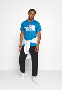 The North Face - STANDARD TEE - Print T-shirt - clear lake blue - 1