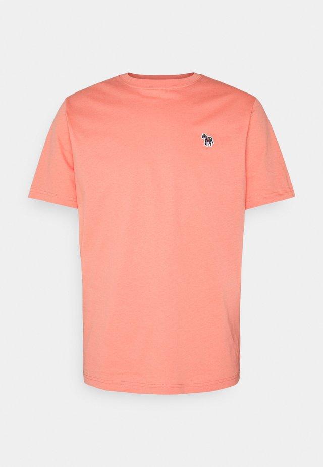 MENS ZEBRA - T-shirt basic - rose