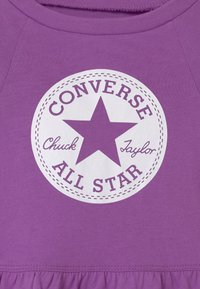 Converse - SCRIPT LOGO SET - Leggings - bright violet - 3