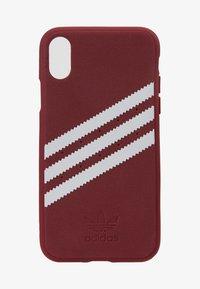 adidas Originals - MOULDED CASE FOR IPHONE X/XS - Etui na telefon - collegiate burgundy - 1