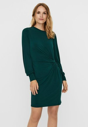 VMTWISTED KNOT SHORT DRESS - Trikoomekko - ponderosa pine