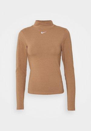MOCK TOP - Långärmad tröja - archaeo brown
