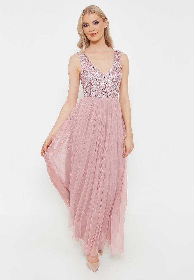 BEAUUT - KERRY EMBELLISHED  - Festklänning - pink