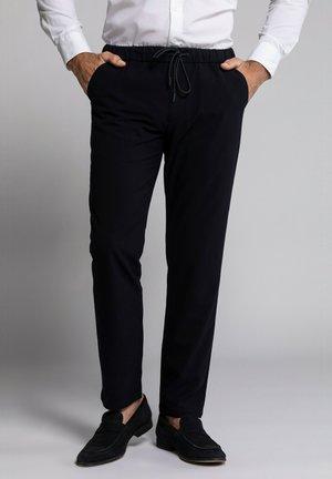 Trousers - bleu marine foncé