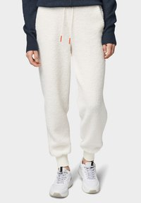 TOM TAILOR DENIM - Trainingsbroek - gardenia white - 0