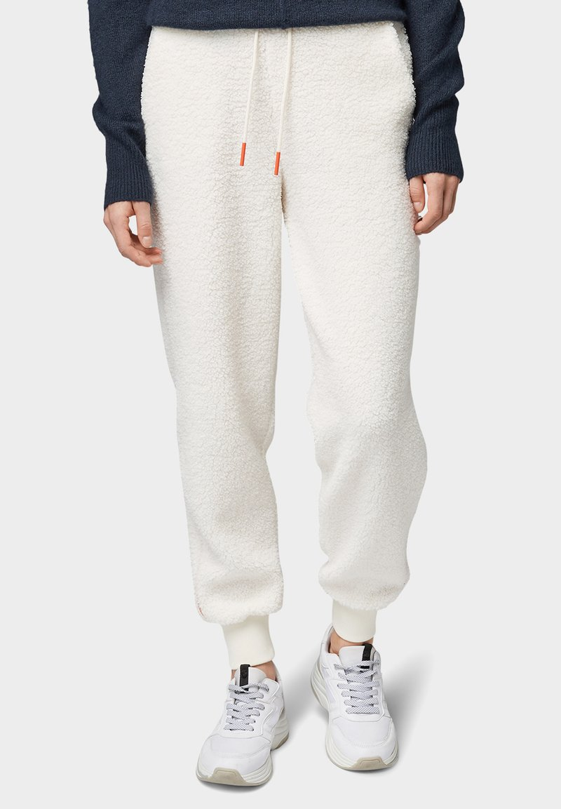 TOM TAILOR DENIM - Trainingsbroek - gardenia white