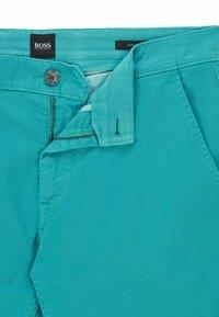 BOSS - SCHINO - Chinos - turquoise - 5