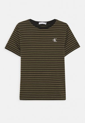 STRIPE SHIRT - T-shirt print - green