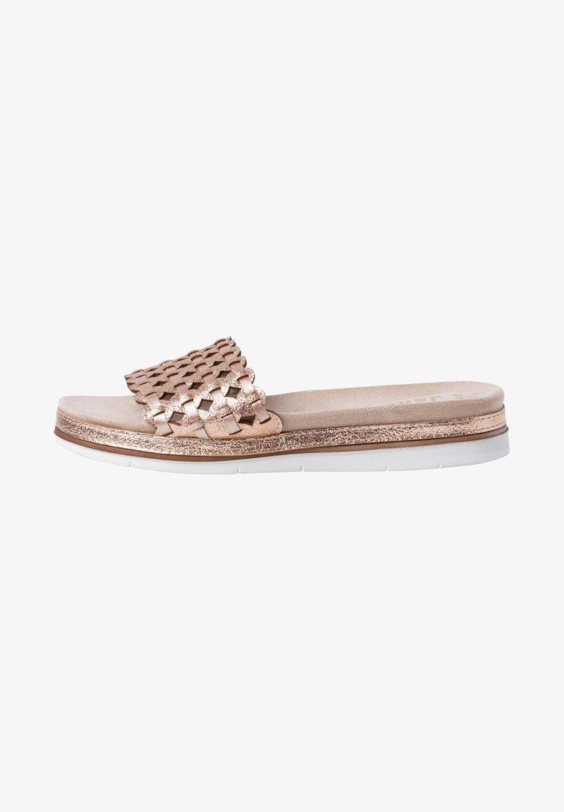 Jana - Slippers - rose/gold