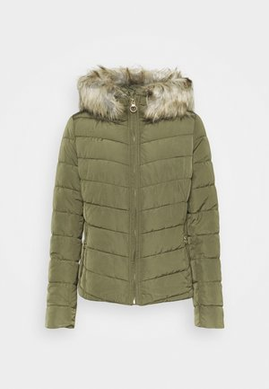 ONLNEW ELLAN QUILTED HOOD JACKET - Light jacket - kalamata