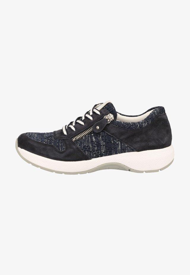 Sneakers laag - navy/ocean-silver