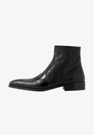Bottines - noir/natur