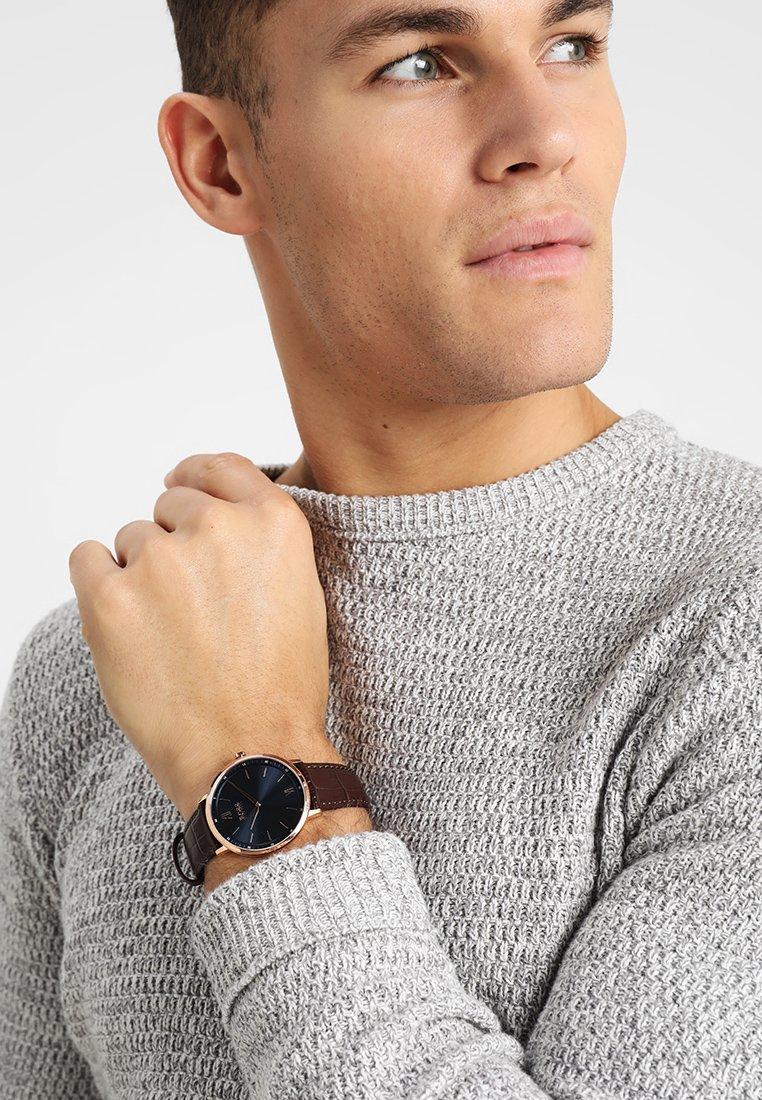 BOSS - Watch - brown/blue