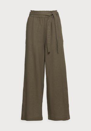 FLOATY PANT - Trousers - khaki green