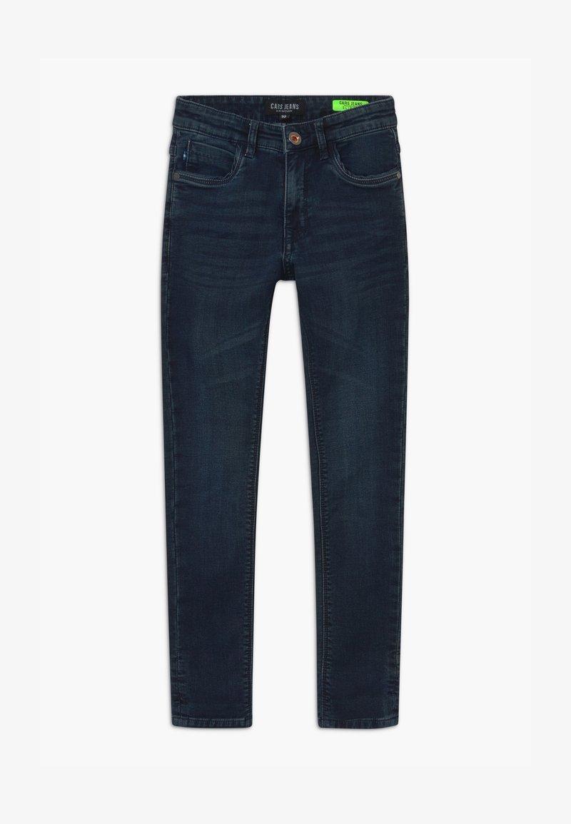 Cars Jeans - BURGO - Slim fit jeans - blue-black denim