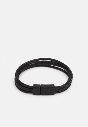 TRIPLE ROW - Armband - black