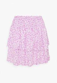 ONLMILLE MARIA - Mini skirt - opera mauve/maria mini flower