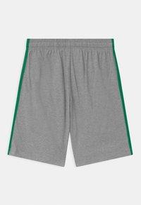 adidas Performance - Pantalón corto de deporte - grey/green - 1