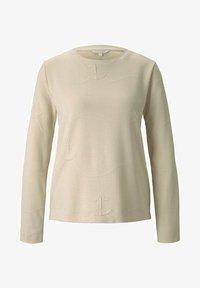 TOM TAILOR DENIM - Sweatshirt - soft creme beige - 4
