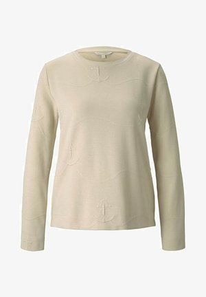 Sweater - soft creme beige