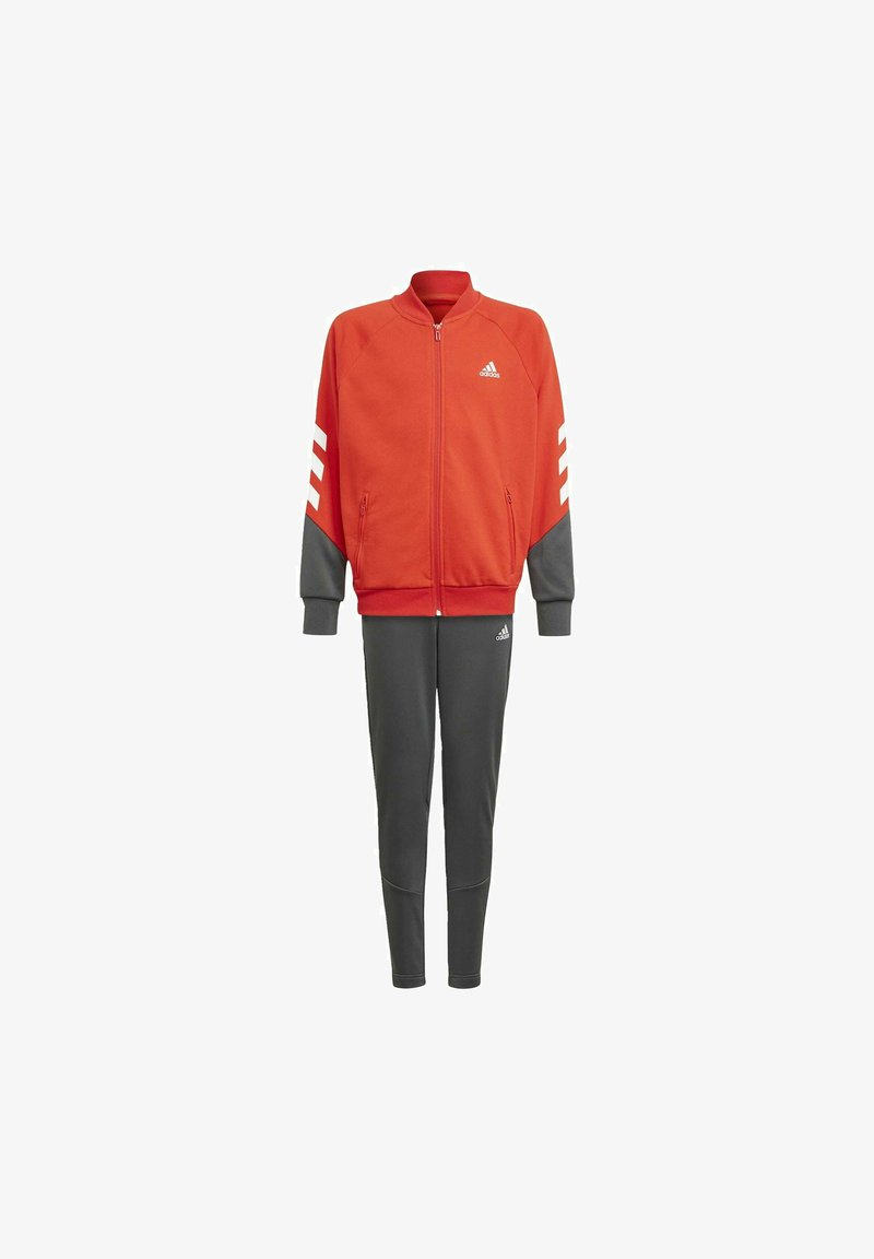 adidas Performance - XFG 3-STREIFEN TRAININGSANZUG - Veste de survêtement - red