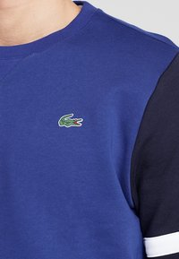 Lacoste Sport - SWEATER - Mikina - ocean/navy blue/white - 5