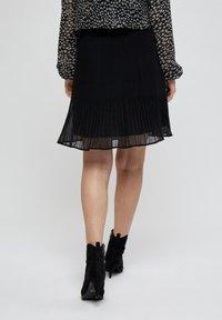 Minus - RIKKA - A-line skirt - black - 2