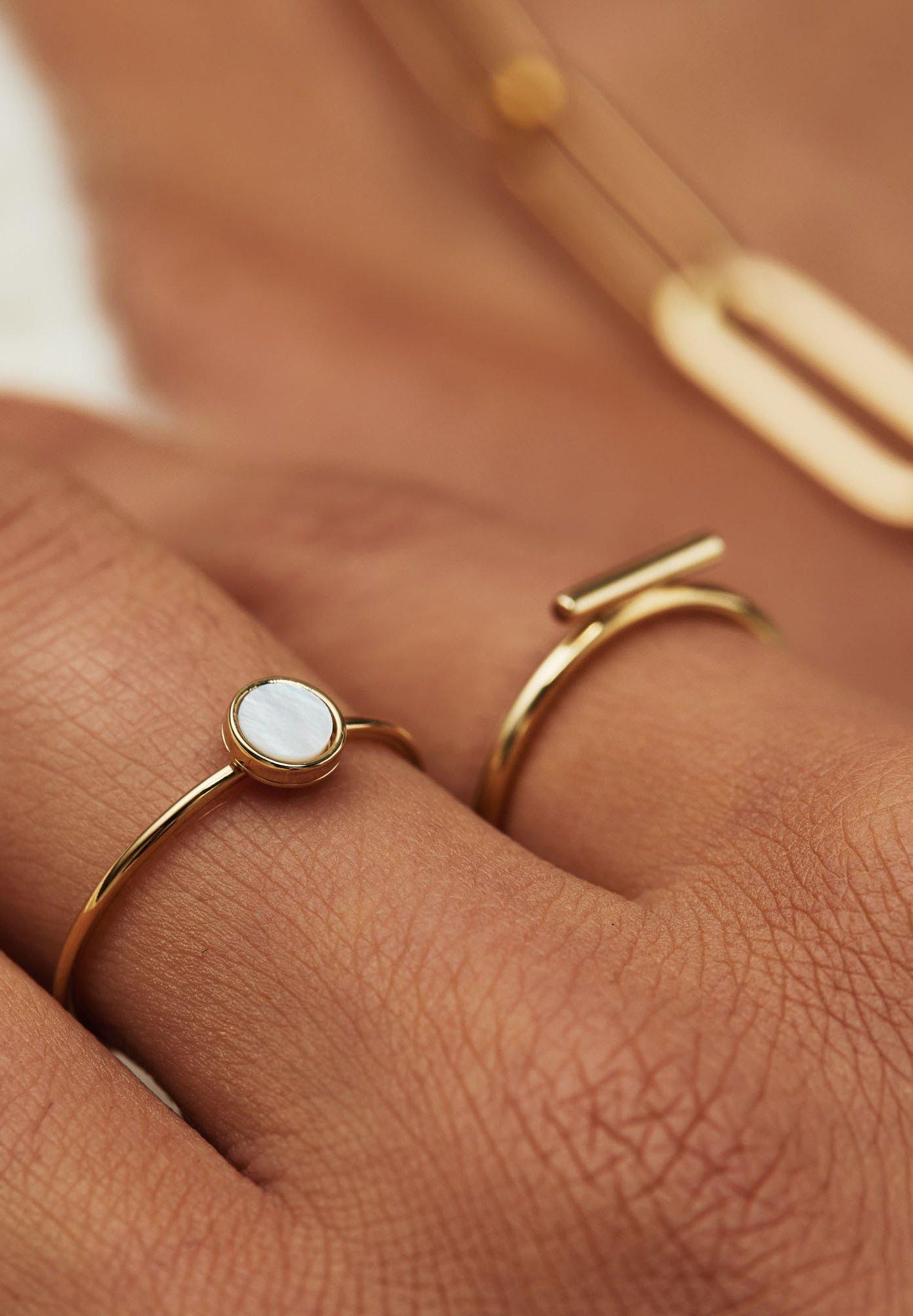 Women 14 CARAT GOLD - Ring