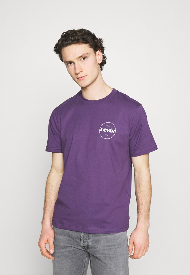 FIT TEE - Print T-shirt - lilac