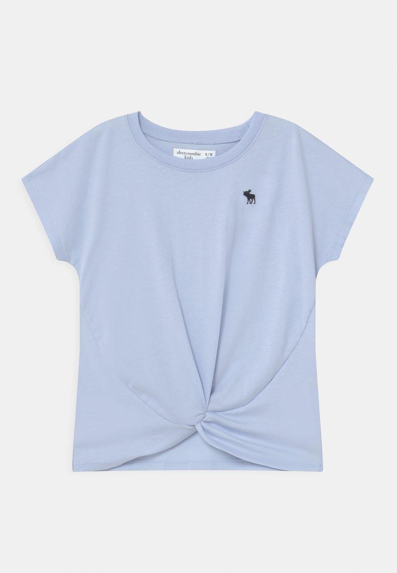 Abercrombie & Fitch - JAN TWIST FRONT  - Print T-shirt - blue