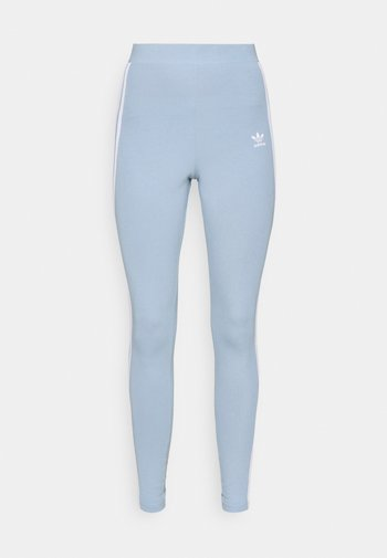 STRIPES COMPRESSION - Leggings - Trousers - ambient sky