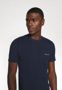 Ellesse - MELEDO - Basic T-shirt - navy - 4