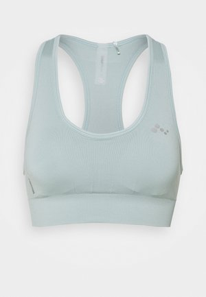 ONPDAISY SEAMLESS BRA - Medium support sports bra - gray mist