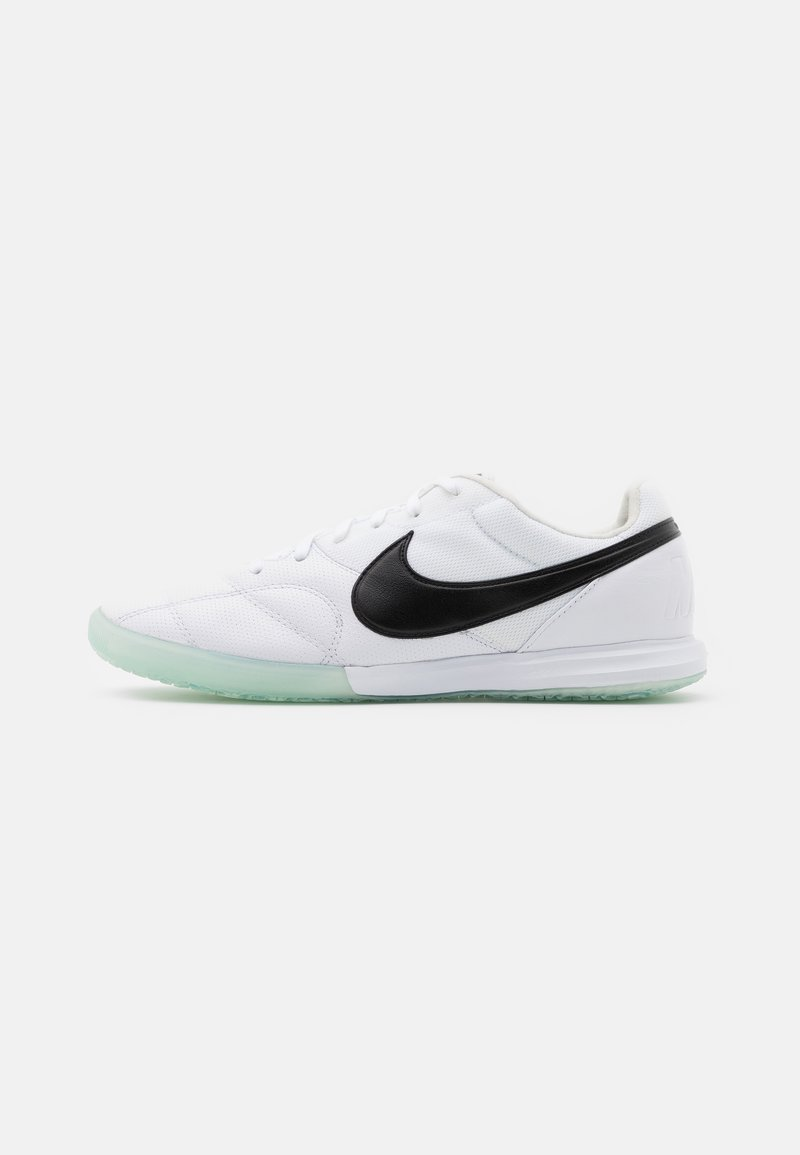 Nike Performance - PREMIER II SALA IC - Indoor football boots - white/black