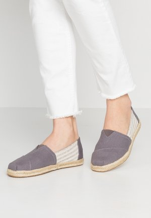 ALPARGATA - Espadrillas - drizzle grey ivy league