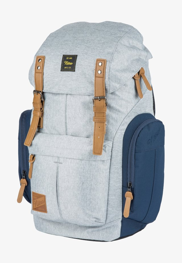 DAYPACKER - Backpack - grey, blue