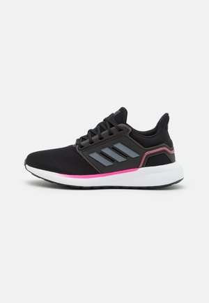 EQ19 RUN - Laufschuh Neutral - core black/iron metallic/screaming pink
