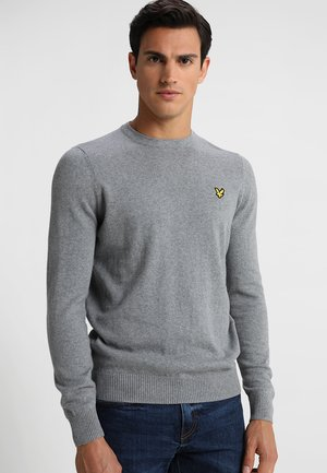 Crew Neck Jumper - Jumper - mid grey marl