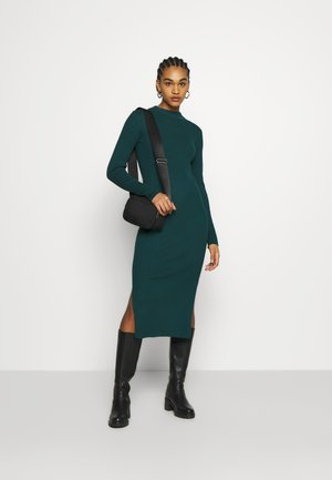 LEMLA DRESS - Jumper dress - solid dark green