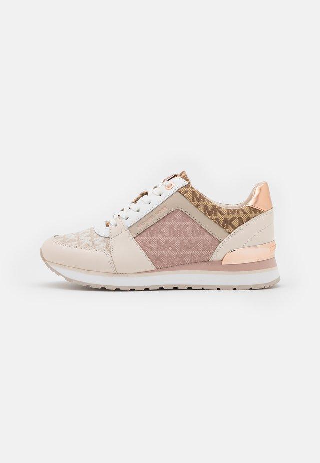 BILLIE TRAINER - Sneakers laag - light cream/multicolor