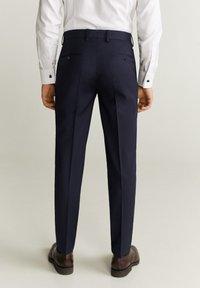 Mango - MILANO - Suit trousers - dunkles marineblau - 2