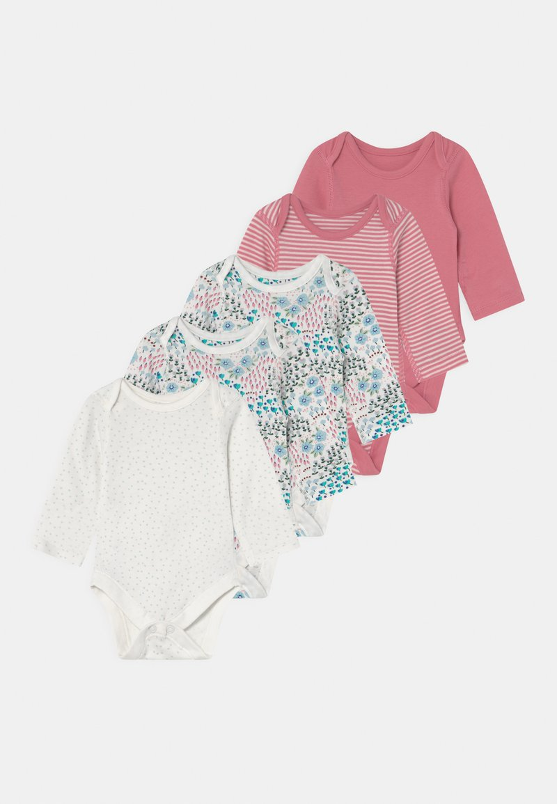 Marks & Spencer London - DITSY BABY 5 PACK - Body - pink/white