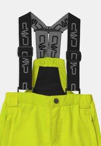 CMP - SALOPETTE UNISEX - Snow pants - yellow fluo - 2