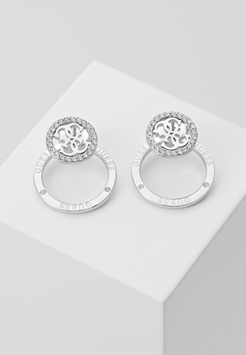 Guess - EQUILIBRE - Boucles d'oreilles - silver-coloured
